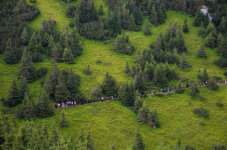 Rusu Tudorel  Pilgrims to The Monastery from Ceahlau Mountain (Romania) at The Feast Of Transfiguration  2019-09-07 14:34:49