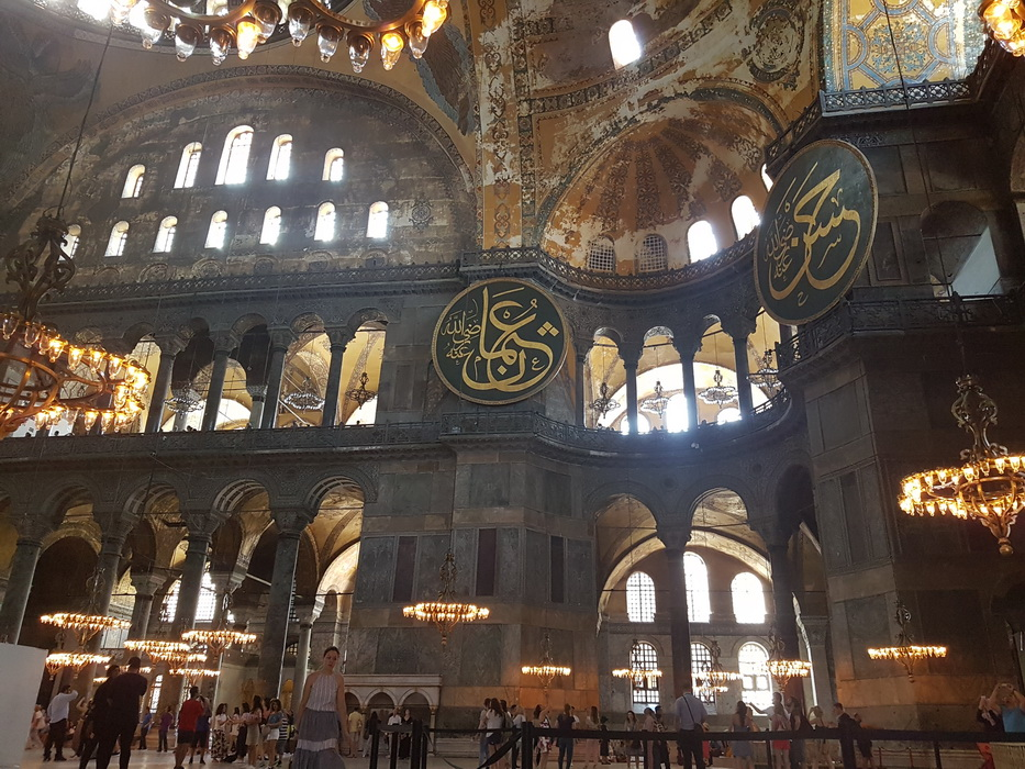 Hagia Sophia, the treasure of Constantinople - inside