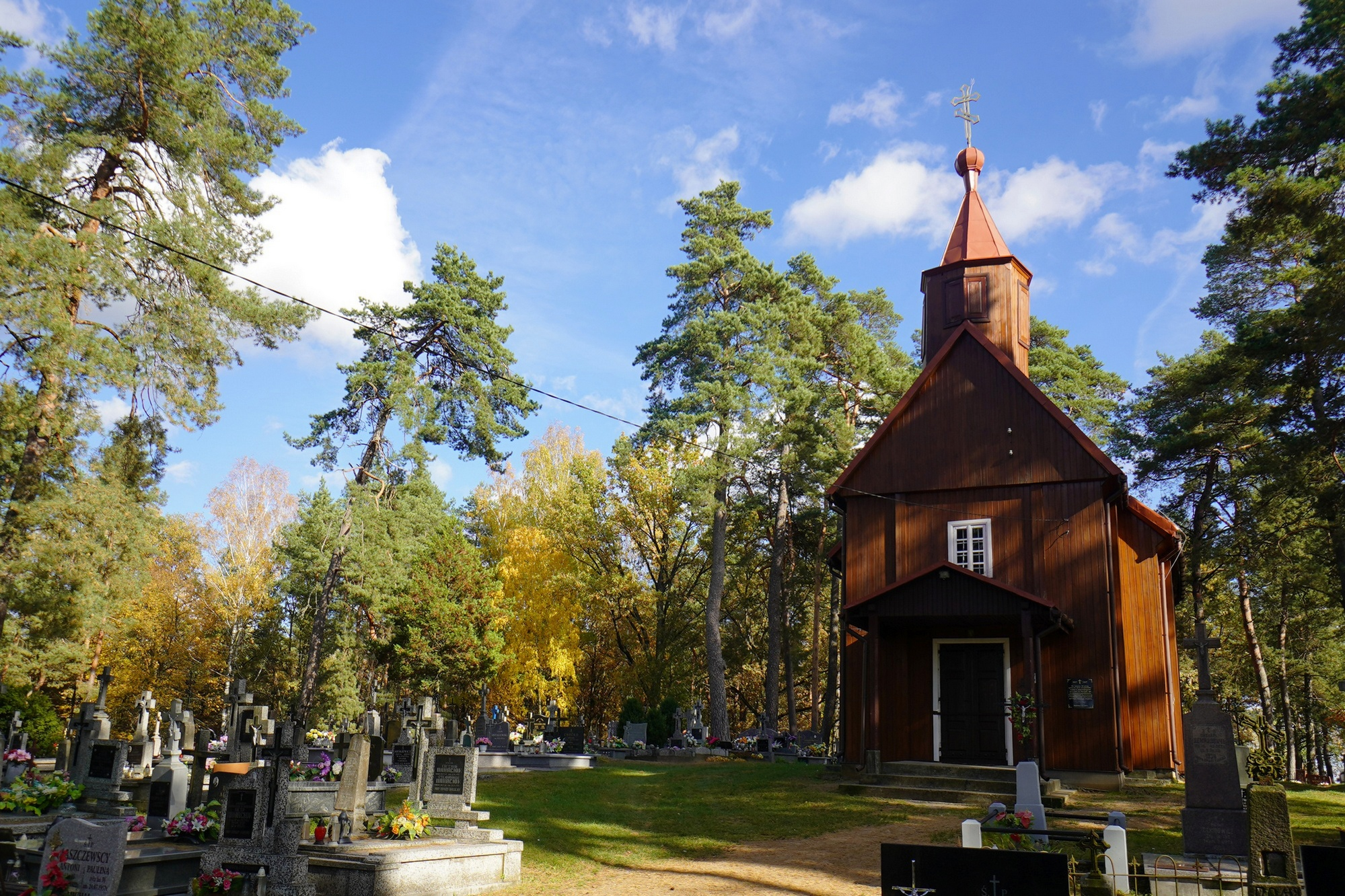 The Orthodox church in Piatienka