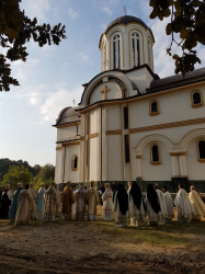 Mitrut Popoiu  Consecration of the church of Maglavit Monastery  2019-10-05 13:56:01