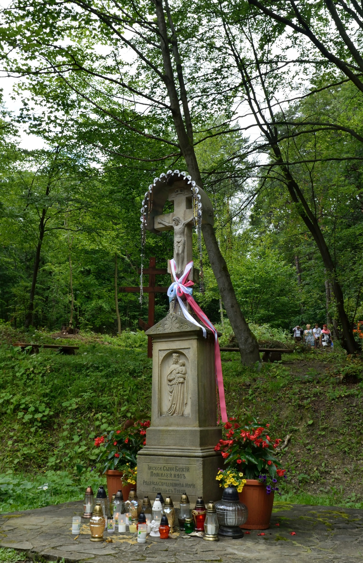 A cross on the Holy Mount Jawor