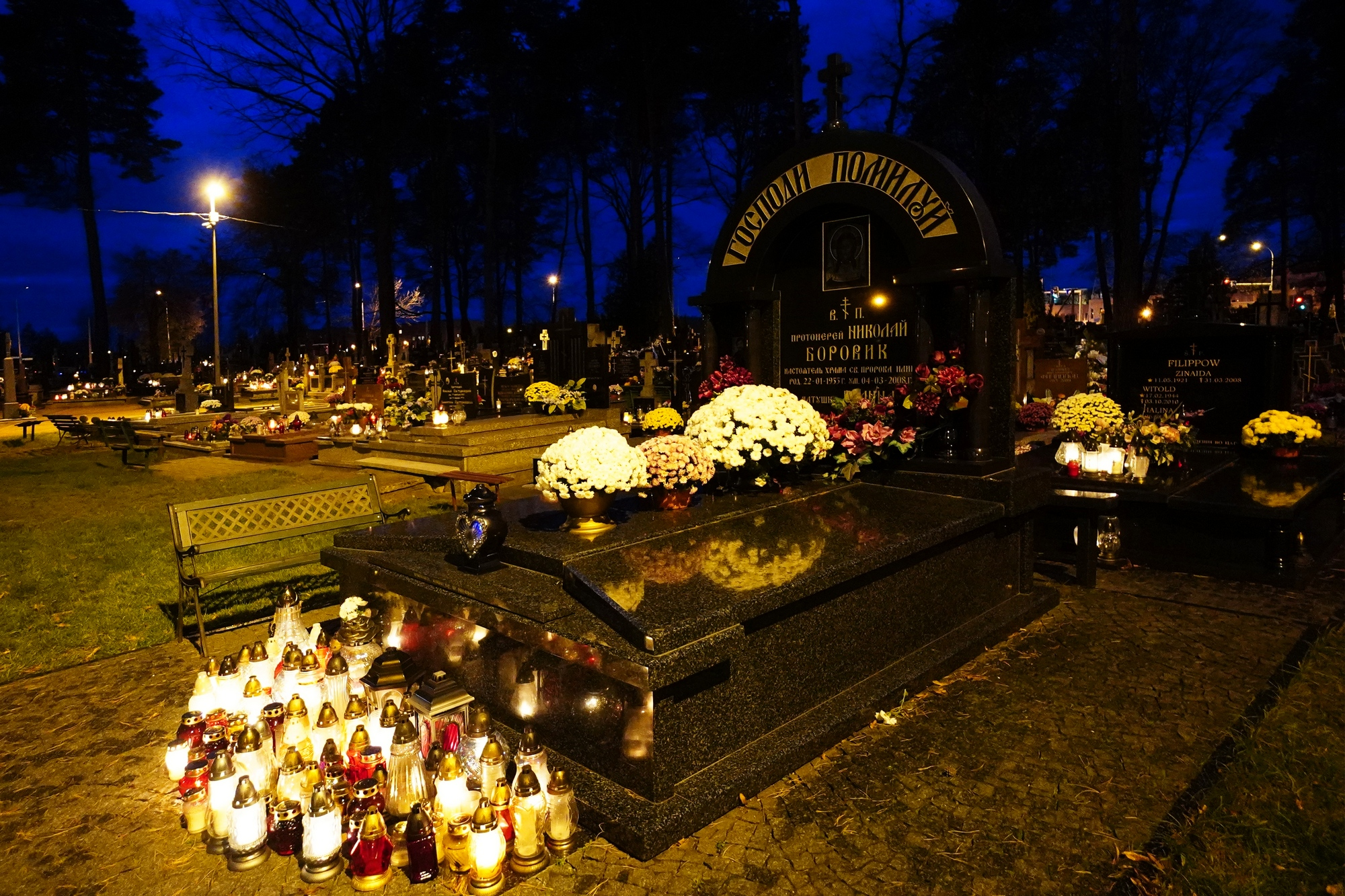 St. Elijah the Prophet Orthodox cementary in Białystok