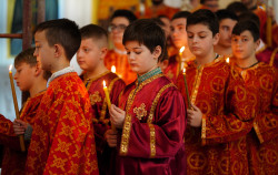 jarek11   The Divine Liturgy in Ressurestion of Christ Cathedral in Tirana