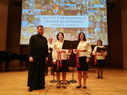 "jarek1   ""The Colours of Orthodoxy. Albania"" presentation in Tirana"