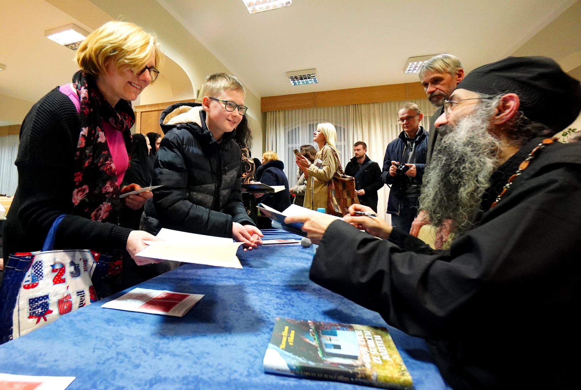Meeting in Białystok with hieromonk Efraim from Alaska