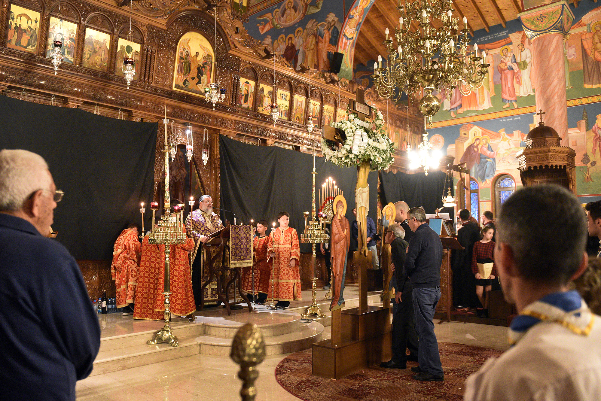 Holy Thursday 2018, Apostolos Varnavas church, Larnaka