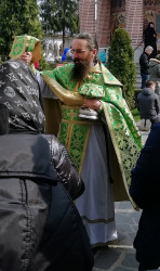 Florina   The last Divine Liturgy with believers
