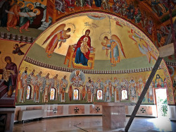 Florina  The new church at Draganesti Vlasca Monastery, Teleorman County  2020-04-01 09:13:26
