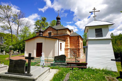 jarek11  The Orthodox cementary church in Klejniki  2020-05-23 19:10:15
