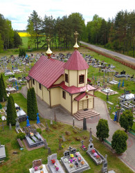 jarek11  The Orthodox church in Tyniewicze Duze  2020-05-23 19:12:34