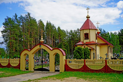 jarek1   The Orthodox church in Tyniewicze Duze