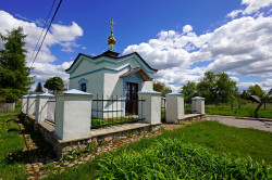 jarek1   The Orthodox chapel in Klejniki