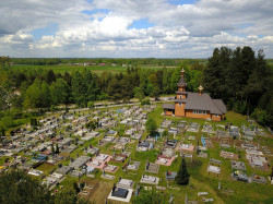 jarek11  The Orthodox cementary in Orzeszkowo  2020-05-30 22:05:17