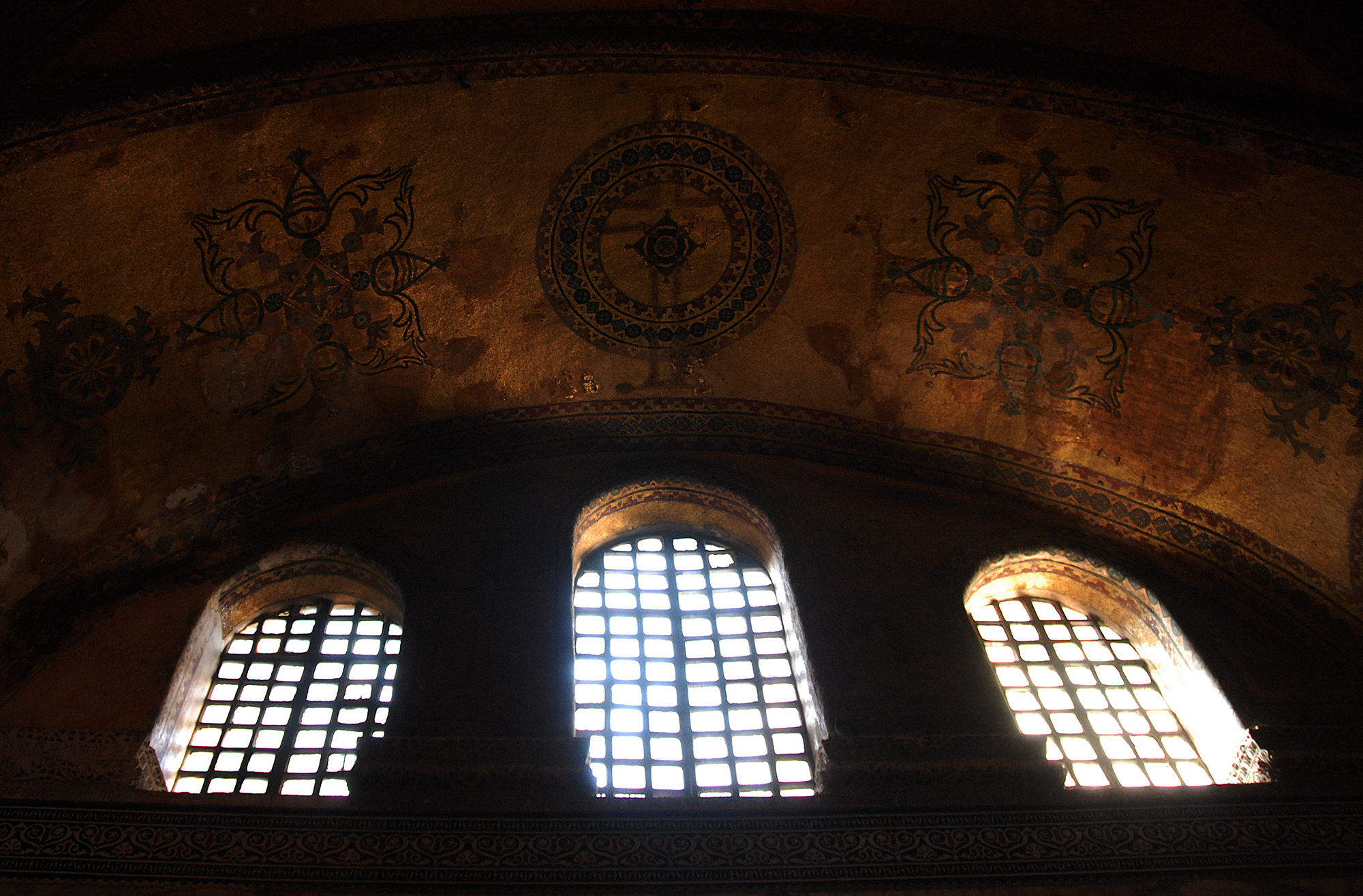 Under the Crosses of Hagia Sophia