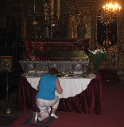 iliana   Venerating the Relics of Saint Euphimia