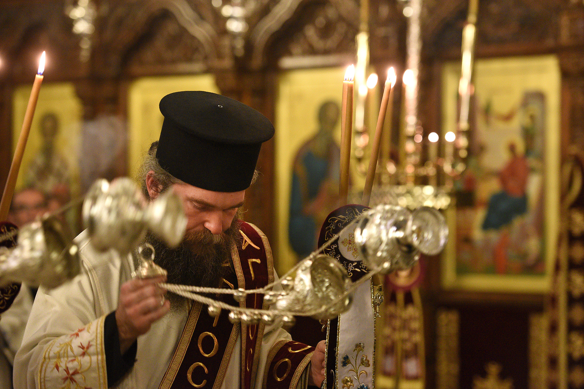 Vesper on nameday of Metropolitan Athanasios of Limassol in 2019