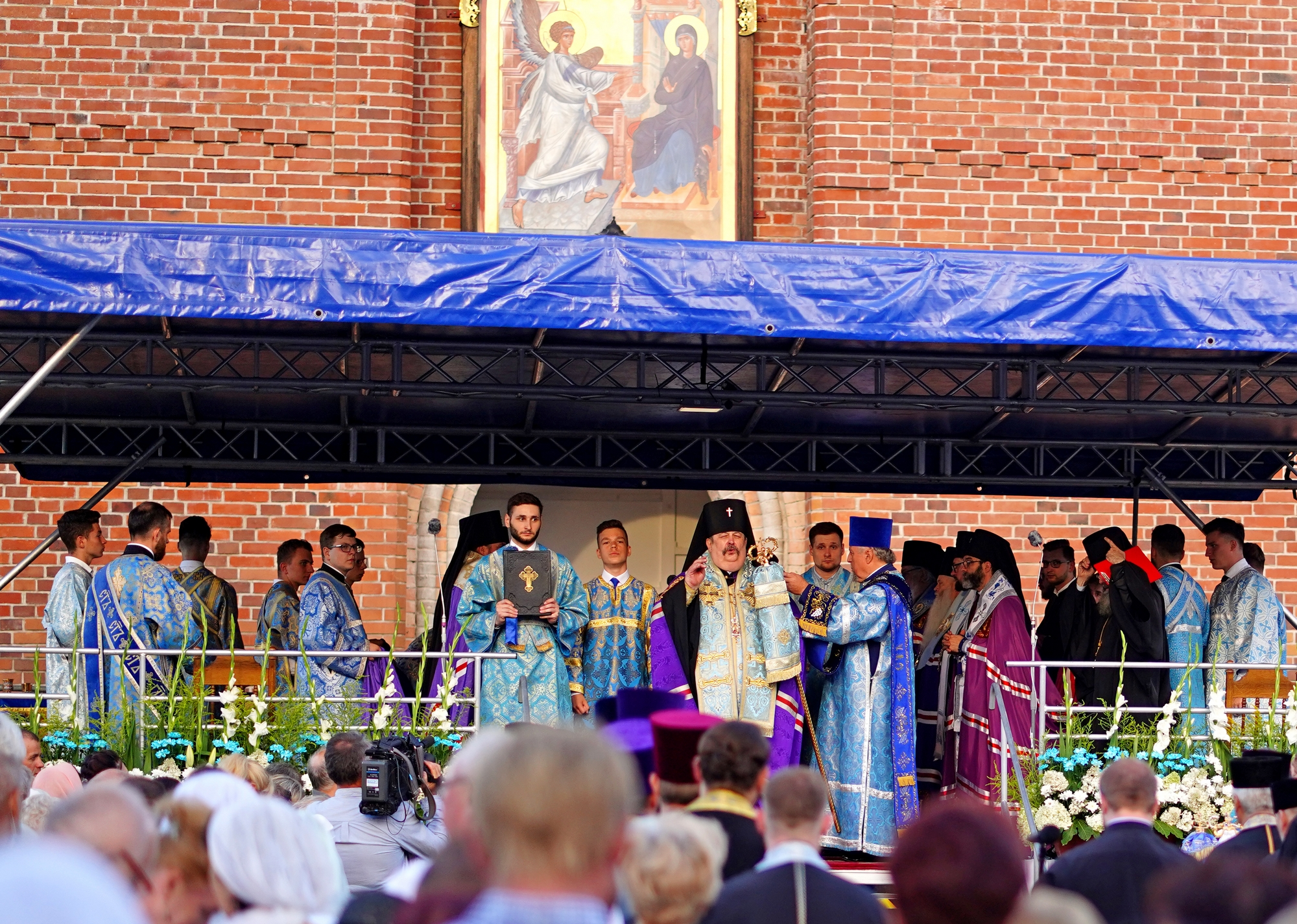 The All Night-Vigil of the feast of Supraśl Icon of the Mother of God in Suprasl Monastery