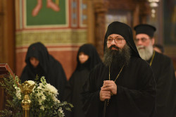 alik   Vesper on nameday of Metropolitan Athanasios of Limassol in 2019
