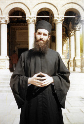 Florina  Father Mihail Stanciu from Antim Monastery, in 1999  2020-10-01 09:06:31
