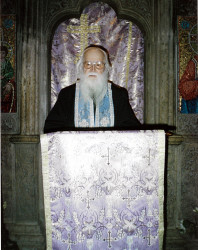 Florina  Father Sofian Boghiu from Antim Monastery, in 1999 (+2002)  2020-10-01 10:36:33