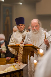 Vlutes   Funneral Service for Metropolitan Theodosius