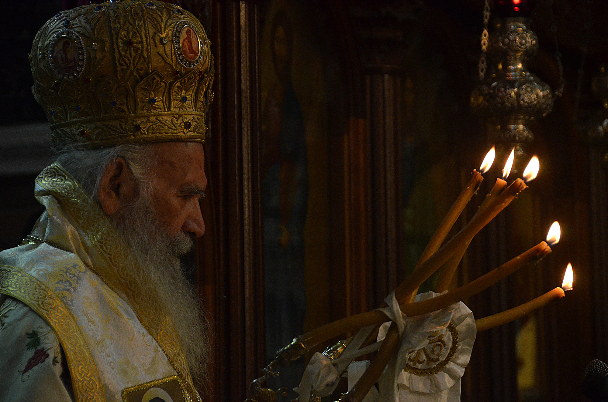 +Archbishop Gregorios of Thyateira and Great Britain