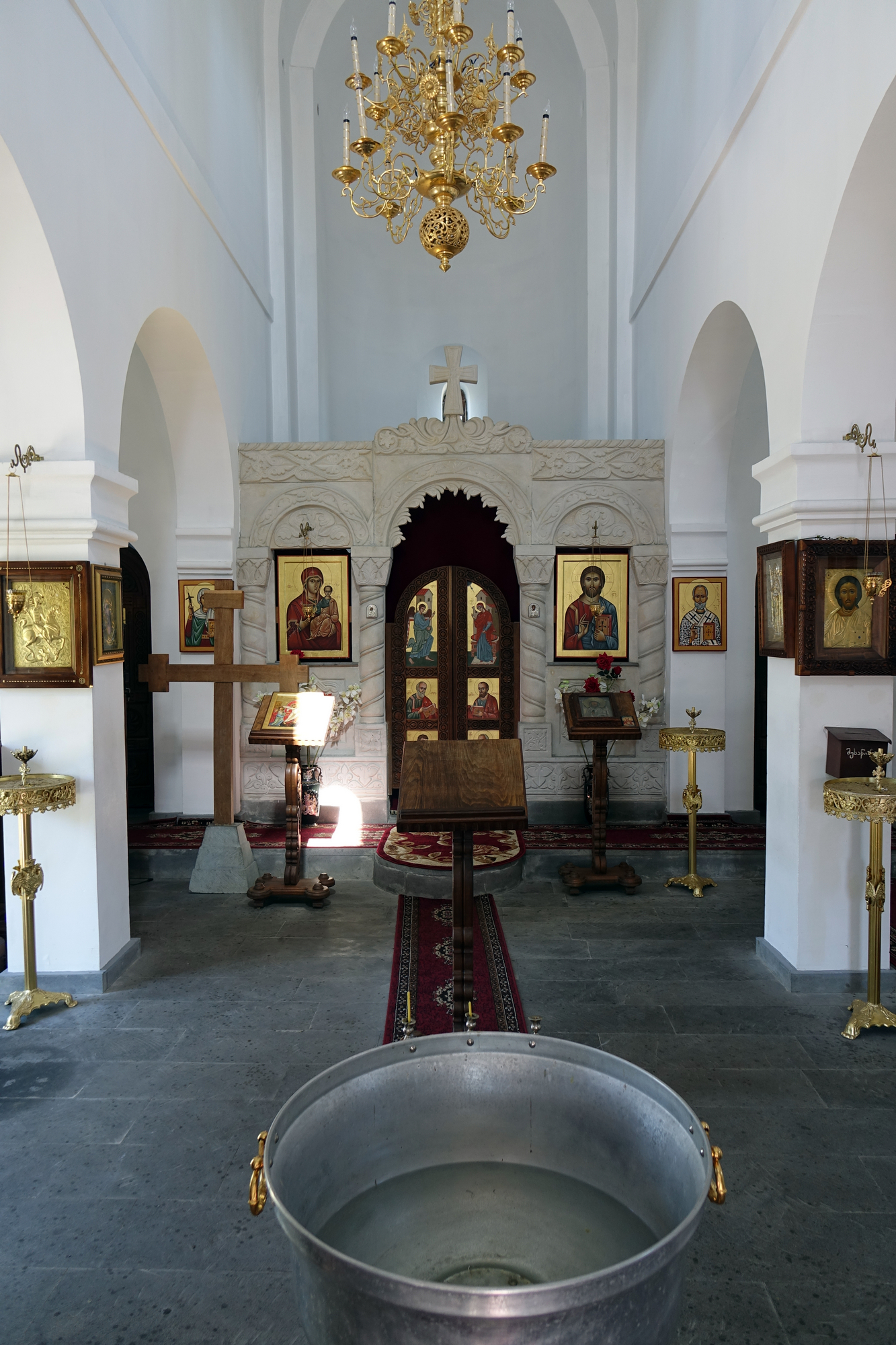 The Orthodox church in Anaklia - 2017