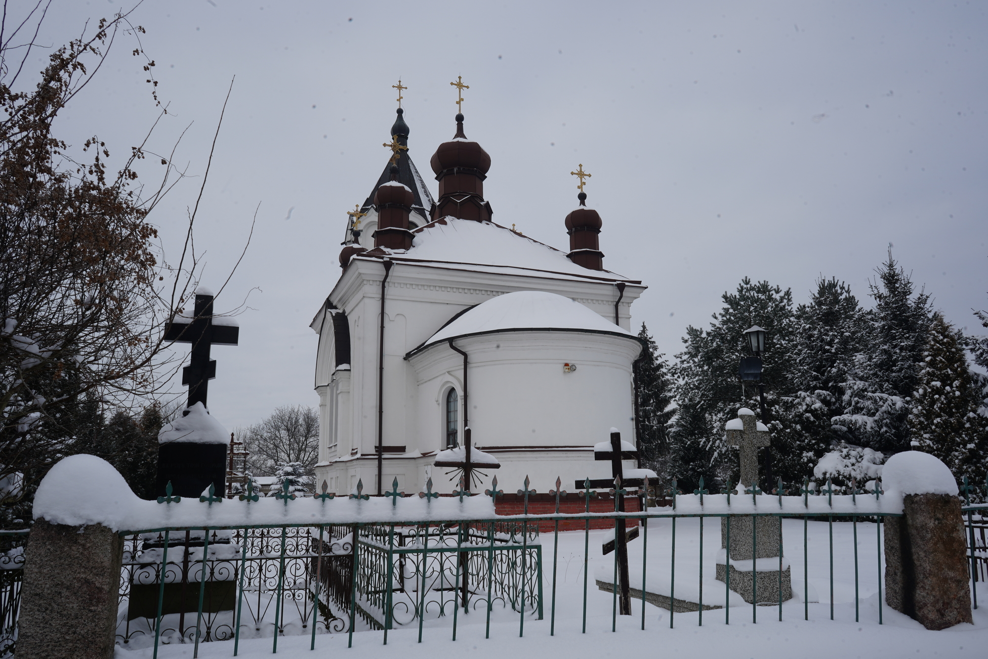 The Orthodox church in Choroszcz