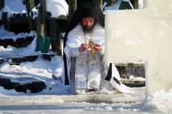 jarek  The feast of Baptism of Christ feast in Odrynki Skete  2021-01-19 20:05:23