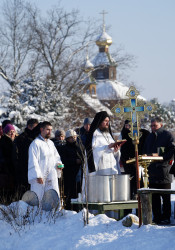 jarek  The feast of Baptism of Christ feast in Odrynki Skete   2021-01-21 21:08:24