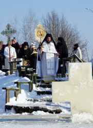 jarek  The feast of Baptism of Christ feast in Odrynki Skete   2021-01-21 21:08:40