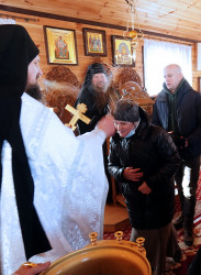 jarek  The feast of Baptism of Christ feast in Odrynki Skete  2021-01-21 21:10:10