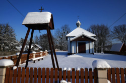 jarek11  The Orthodox chapel in Rybaki village  2021-02-10 19:49:01