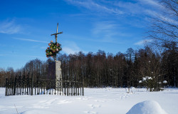 jarek11  Cross close to Zasady village  2021-02-19 10:46:49