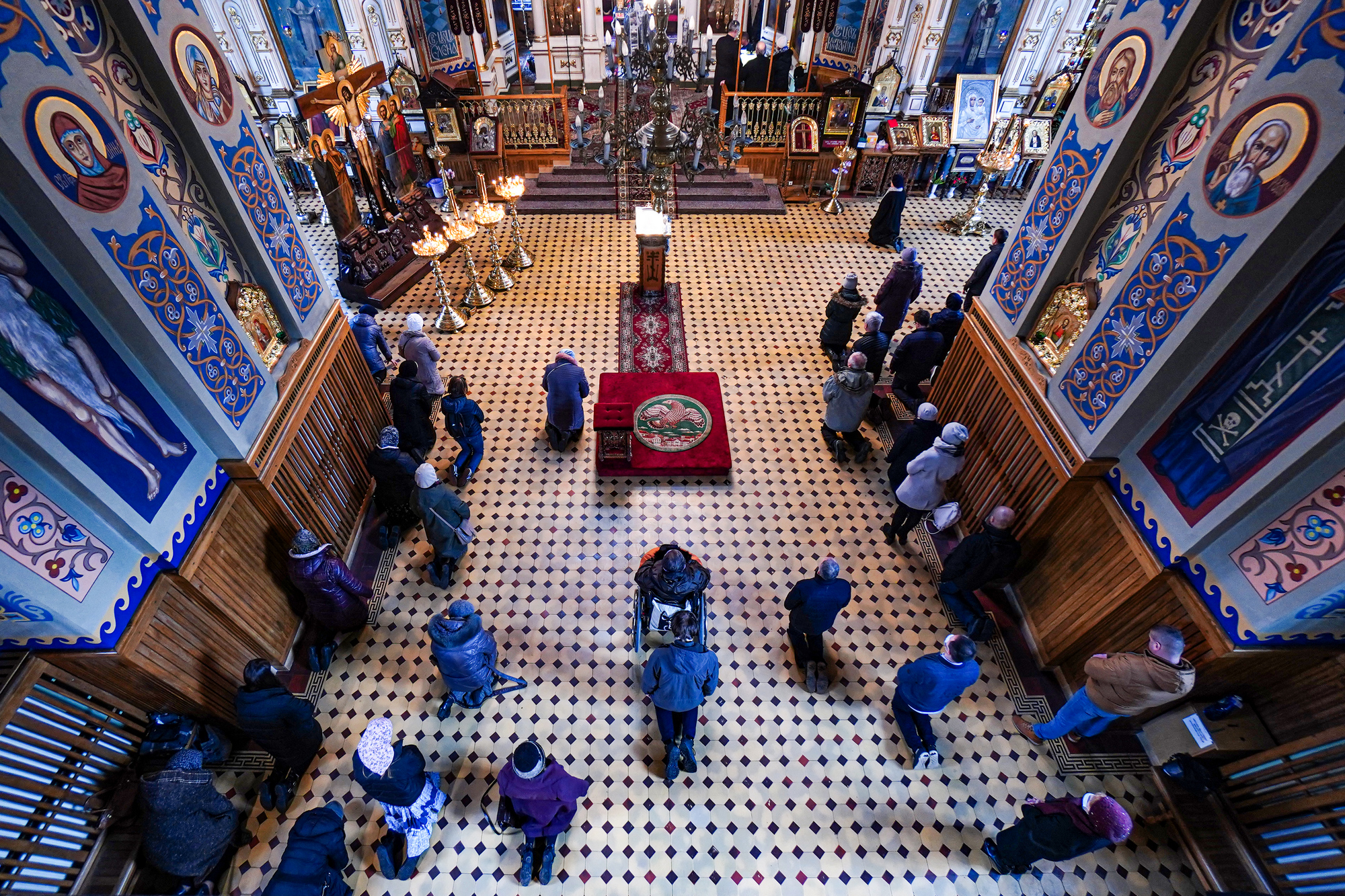 The Liturgy of the Presanctified Gifts in St. Nicholas Cathedral in Białystok