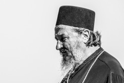 jarek   Blessed memory bishop Atanasije Jevtić at Pan-Orthodox Council on Crete, 2016