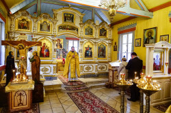 jarek   The Divine Liturgy in St. Michael the Archangel Orthodox church in Ciechocinek