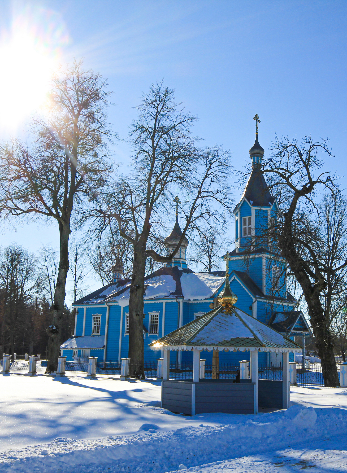 The Orthodox church in Werstok