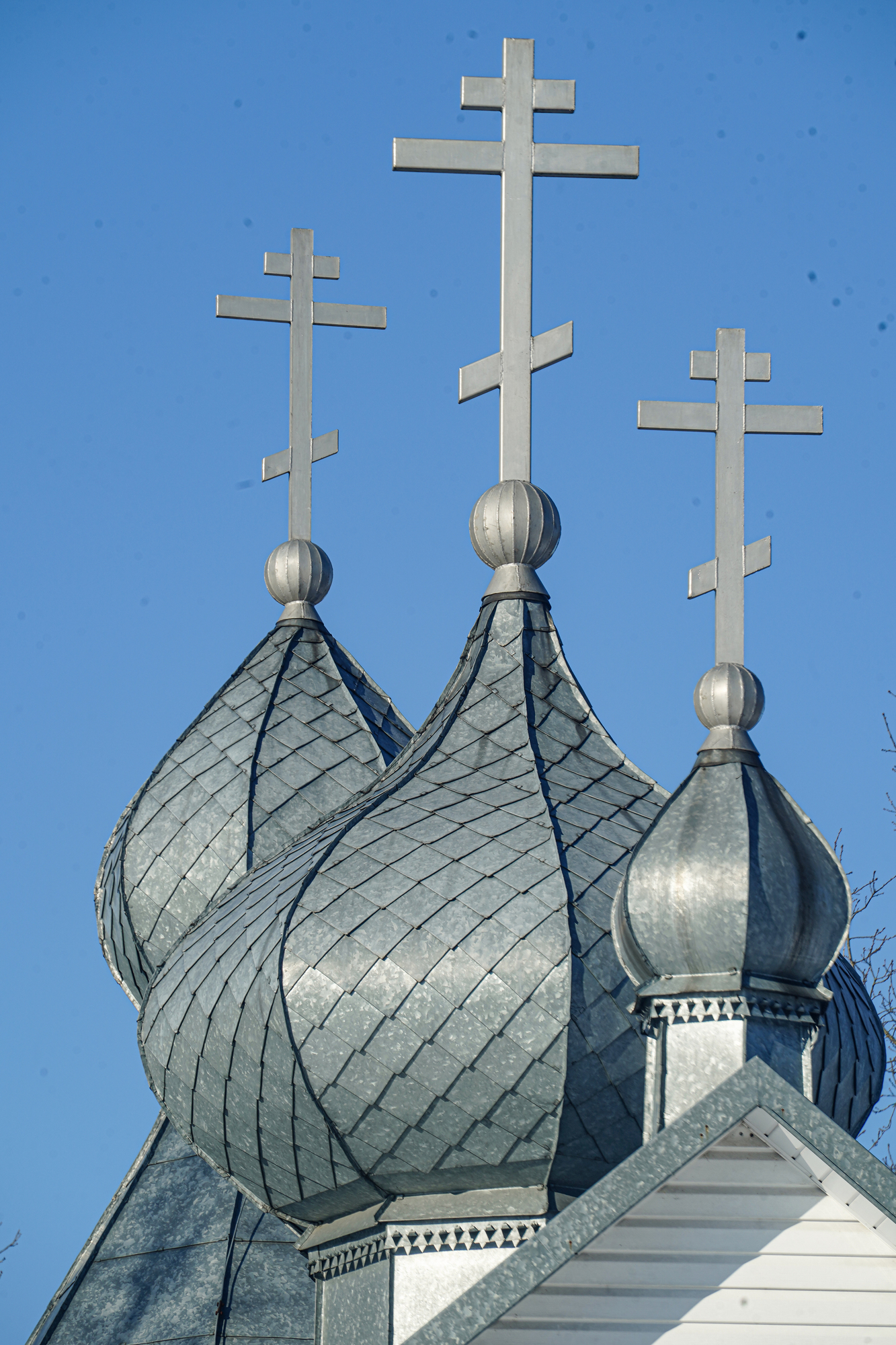 Domes of The Orthodox church in Suchwolce