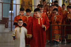 alik  Liturgy at cathedral in Tirana  2021-04-14 15:40:53