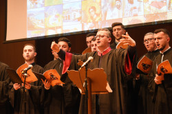 alik   Choir from cathedral in Tirana