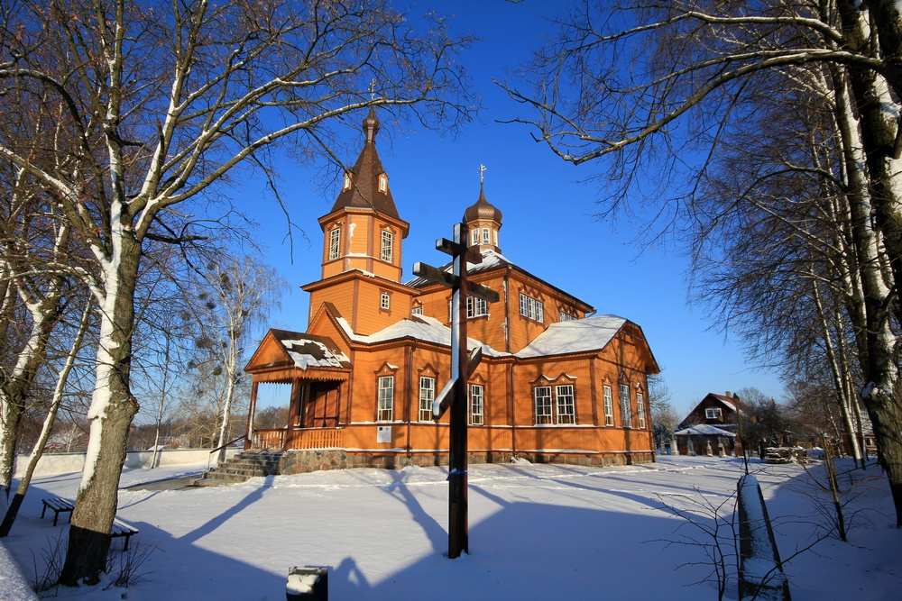 Orthodox church in Juszkowy Gród
