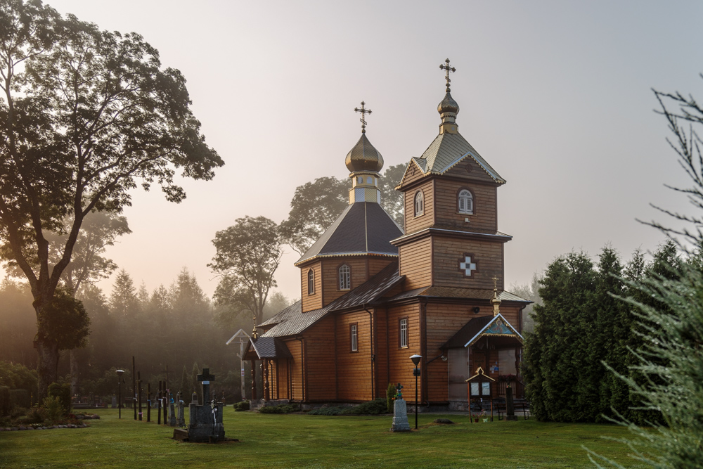 Saints Cosma and Damian's Orthodox Church in Telatycze