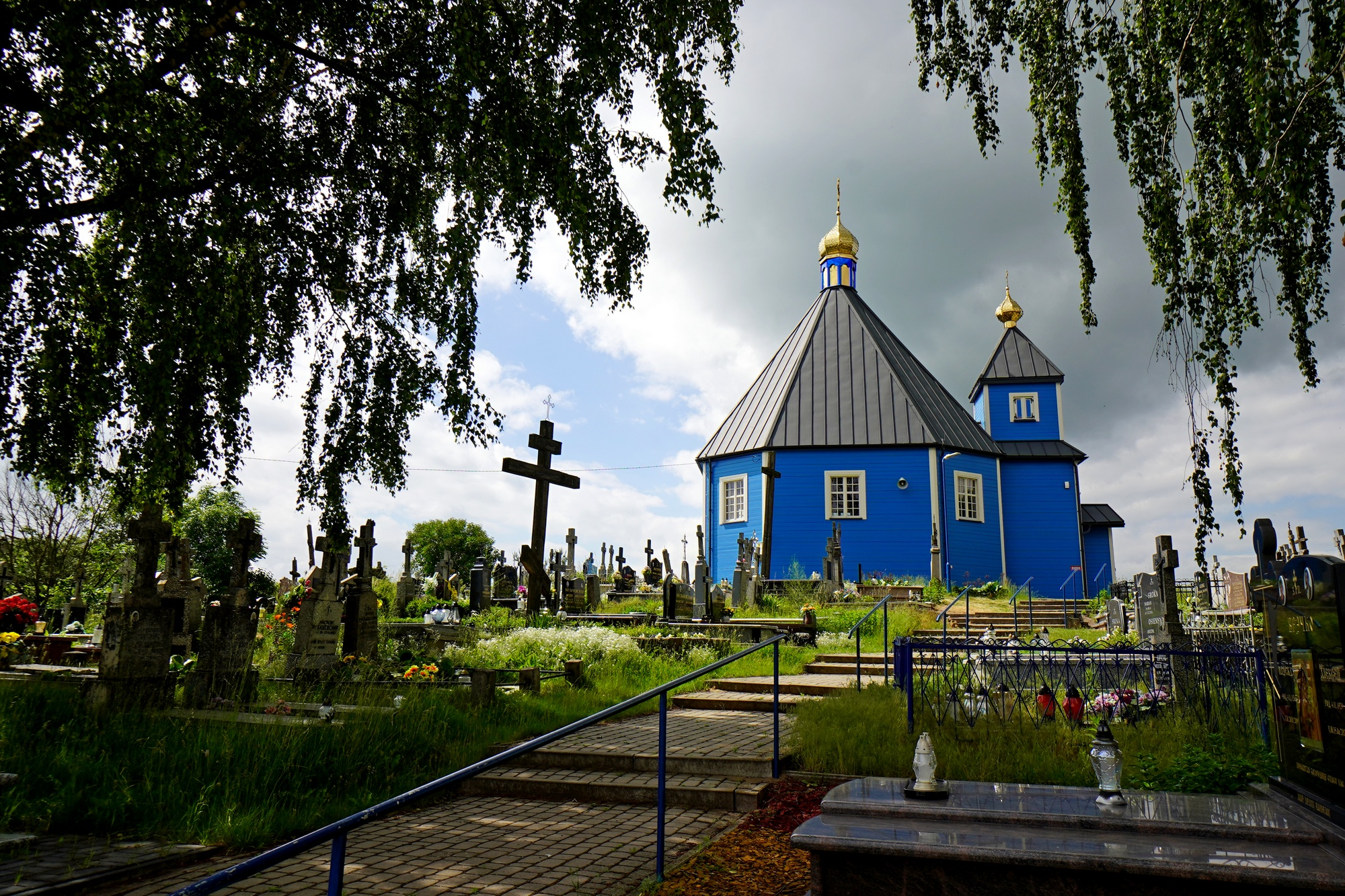 The Orthodox church in Parcewo