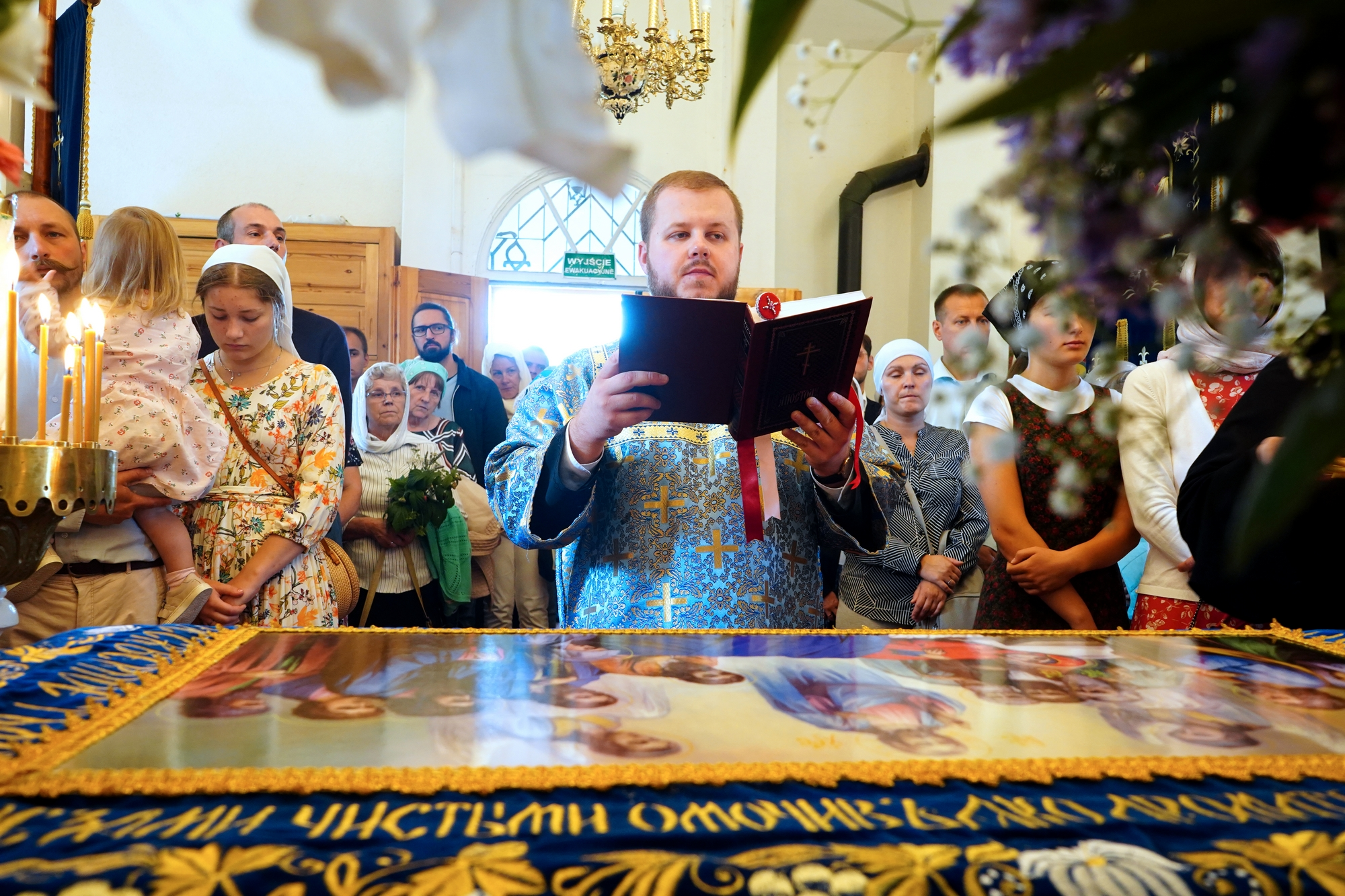The Dormition of the Mother of God feast in Wojnowo Convent