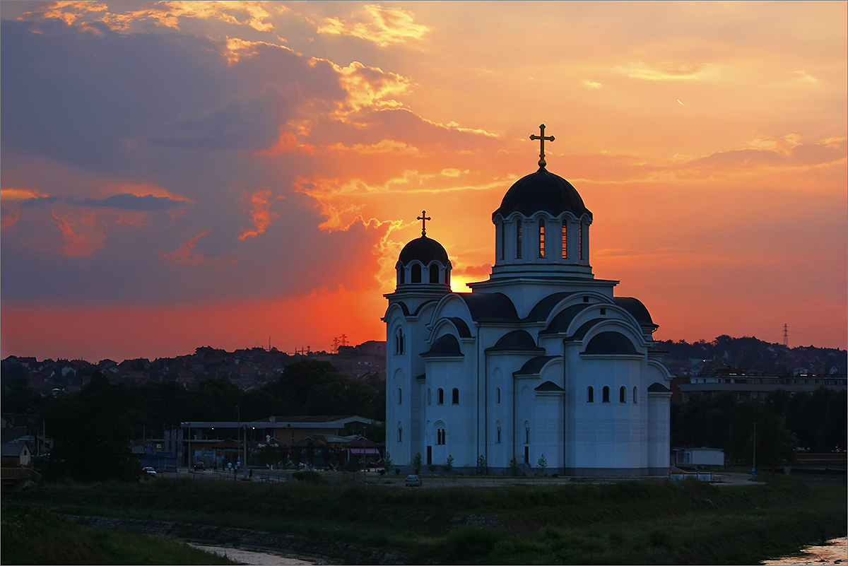 The Church of Resurrection of Jesus Christ in Valjevo