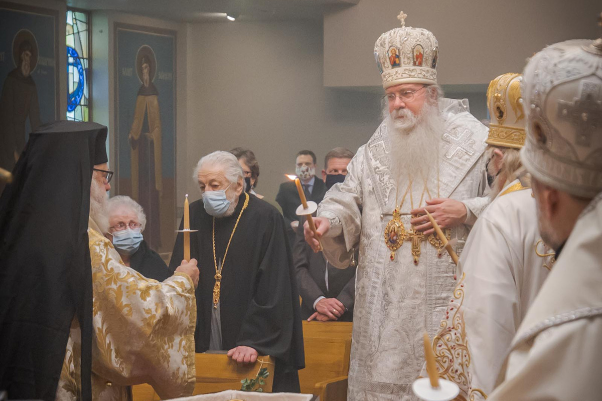 Funneral Service for Metropolitan Theodosius