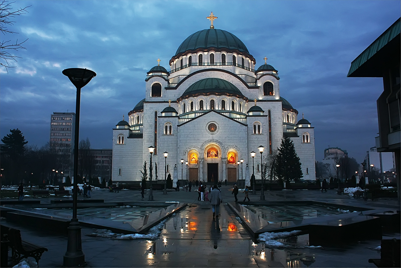 Saint Sava Cathedral in Belgrade